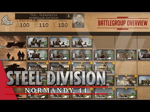 716th Infantry (Eichenlaub-Division) - Steel Division: Normandy 44 Battlegroup Overview #11