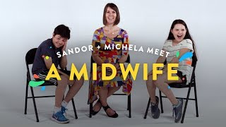 Kids Meet A Midwife (Sandor & Michela) | Kids Meet | HiHo Kids