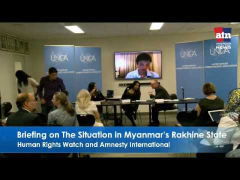 Briefing on The Situation in Myanmar's Rakhine State