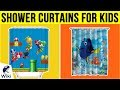10 Best Shower Curtains For Kids 2019