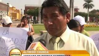 Pobladores de Quiruvilca exigen justicia