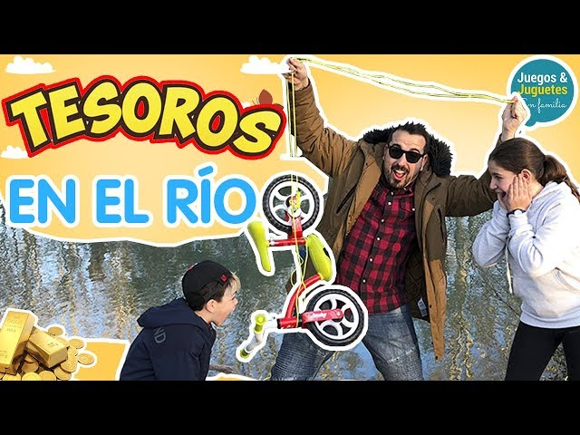 Buscando Tesoros En El Río Pescamos Una Bicicleta Youtube