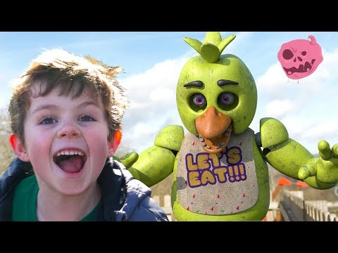 Real fnaf vs kids - what do the animatronics do in their spare time?
