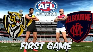 AFL Evolution: First Game (Kinda)