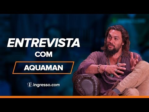 Play Entrevista com o elenco de Aquaman | Ingresso.com