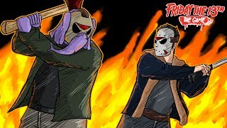 "Friday The 13th: The Game | ""Dodging The Jason Finisher!!!"" 