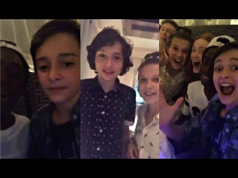 Stranger Things Cast Livestream Q&A Session