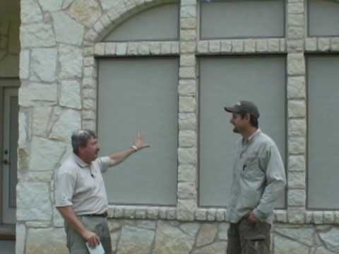 Visibility Through Our 90 Stucco Solar Screen Fabric Interview