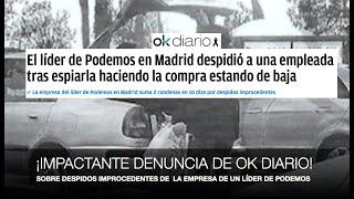 """¡DENUNCIAN PRÁCTICAS """"ESCLAVISTAS"""" DE LOS DIRIGENTES DE PODEMOS!"""