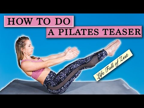 How to Build to a Pilates TeaserAdvanced Pilates Exercise [Life Full of Zest Pilates]