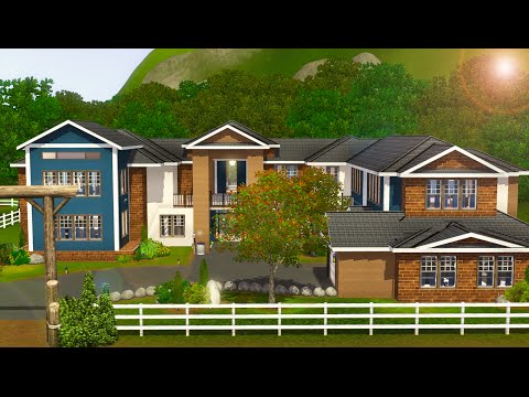 Sims 3 Speed Build - Sunrise Villa