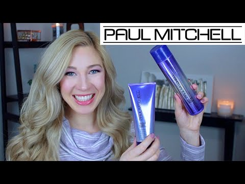 Paul Mitchell Platinum Blonde Purple Shampoo & Conditioner Review | How Bright Can We Get It?