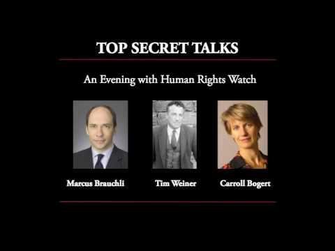 Top Secret Talks - An Evening with Human Rights Watch