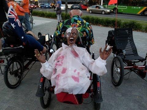 Adelaide Velo Fringe Festival Mystery Ride -  Recumbent Trike Ride Tour May 2014