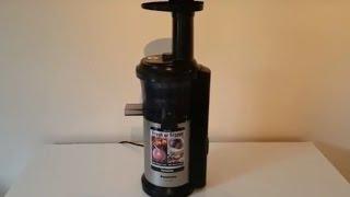 Panasonic MJ-L500 Slow Juicer Review
