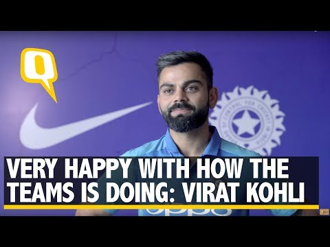 Indian Captain Virat Kohli on New ICC World Cup Jersey | The Quint