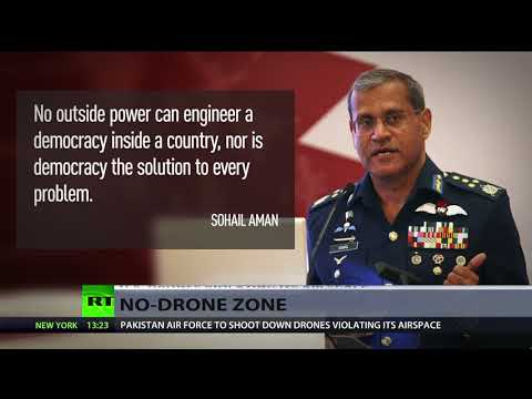 Pakistani Air Force ordered to shoot down US drones that violate airspace