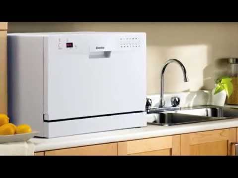 Countertop Dishwasher Consumer Reports : Danby Countertop Portable Dishwasher - YouTube
