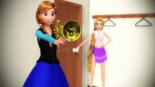 【Frozen MMD】When Elsa Isn't Home