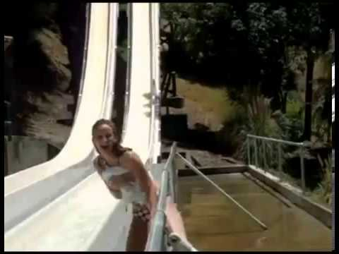 Girl Loses Bikini On Water Slide Fail