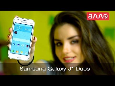 Видео-обзор смартфона Samsung Galaxy J1 Duos