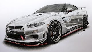 Nissan GTR Edition R34 Concept Drawing
