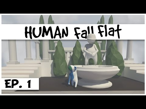 Human Fall Flat - Ep. 1 - The Puzzling Zebraman! - Let's Play Human Fall Flat Gameplay