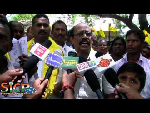 Mutharaiyar Protest at Tiruchi