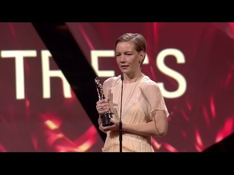 European Film Awards 2016 Actress: Sandra Hüller, Toni Erdmann