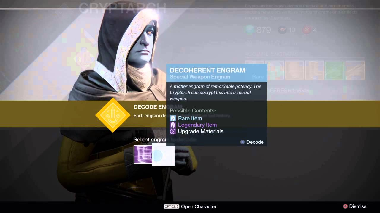 how to get an exotic engram in destiny 2