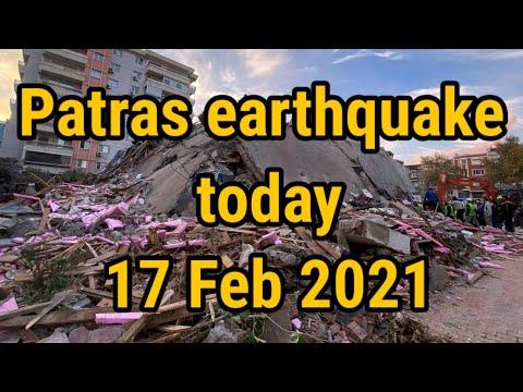 Patras earthquake today   magnitude 5.5 earthquake occurred near Patras, Greece