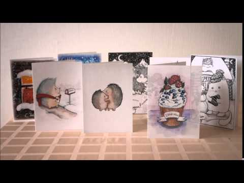 Мои первые открытки для продажи!!!