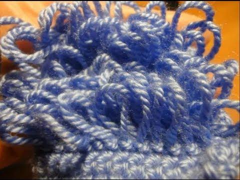 Вязание крючком как вязать вытянутые петли.