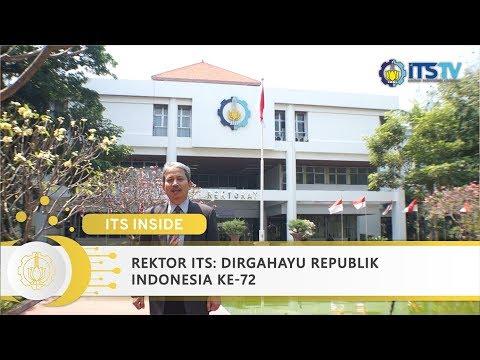 Rektor ITS: Dirgahayu Republik Indonesia ke-72