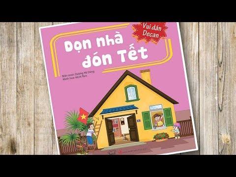 Đồ chơi bé gái dán hình búp bê Tập 3 Dọn nhà đón tết - Vui dán decan Sticker Dolly (Chim Xinh)