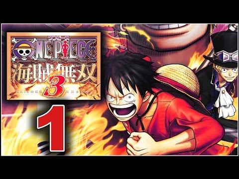 One Piece: Pirate Warriors 3 Walkthrough Part 1 - Romance Dawn Arc
