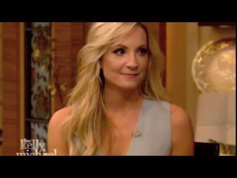 Joanne Froggatt of Downton Abbey appears on Live! With Kelly & Michael 29 Jan 2015