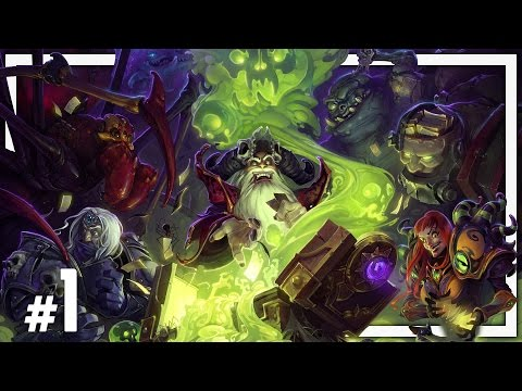 Hearthstone: One Man Raid - Naxxramas #1 - Arachnid Quarter Normal & Class Challenges