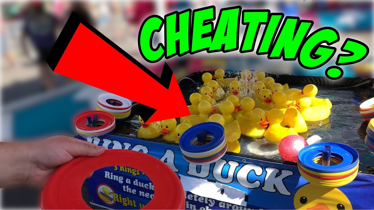 will this secret trick help you win carnival games is it cheating