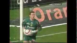 Mickaël LANDREAU - Ses pénalties arrêtés avec le FC Nantes