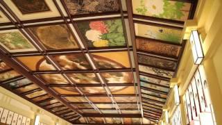 湊川神社  拝殿天井画 2017.01.03