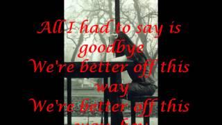 Goodbye- Secondhand Serenade Lyrics