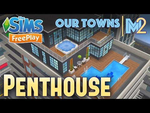 Sims FreePlay - Penthouse Family (Original Design)