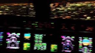 Landing Embraer Regional Jet 145 Cockpit View