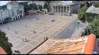 Веб-камера онлайн Театральная площадь, Тернополь - Camera.HomeTab.info