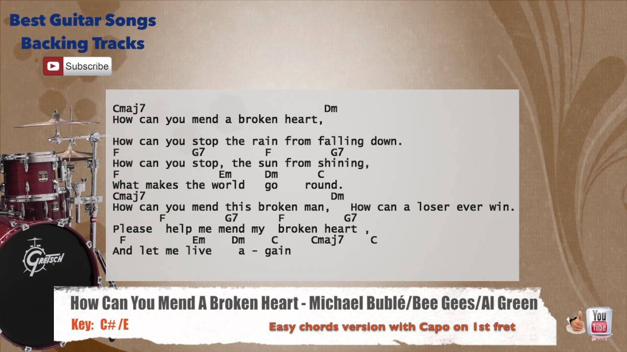 mend my broken heart song