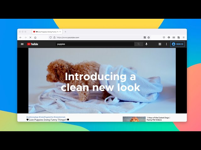 The New Firefox Redesign