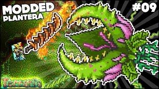 ⭐ MODDED PLANTERA? NO PROBLEM!! (& PIXIE QUEEN) ⭐ Modded Terraria 1.3.4 Episode 9 (Terraria Modpack)