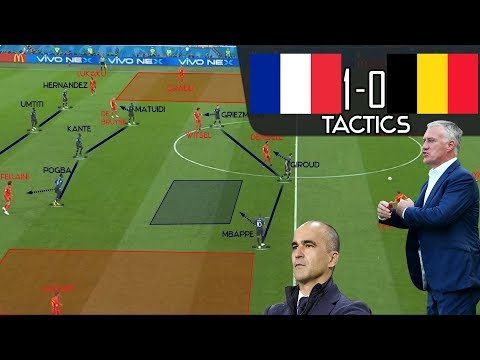 How France Tactically Outclassed Belgium: Tactical Analysis