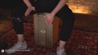 MEINL Percussion - Artisan Edition Cajon, Tango Line, Grey Eucalyptus - AETLGE